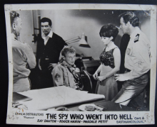 Spy Who Went into Hell - Vintage Movie Still (1)
